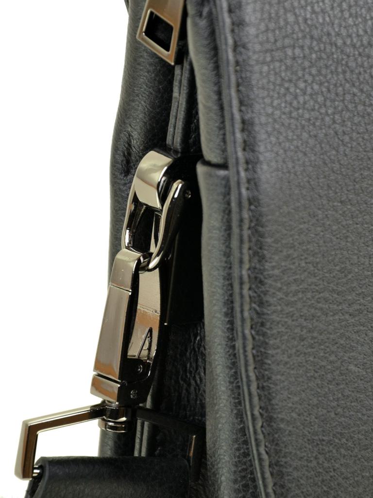 Сумка Мужская Планшет кожаный BRETTON BE 5432-3 black - фото 3
