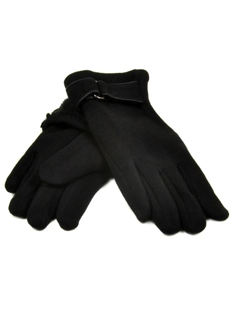 Перчатка Подростковая стрейч D2 ПЛ мод-1 black (мальчик)