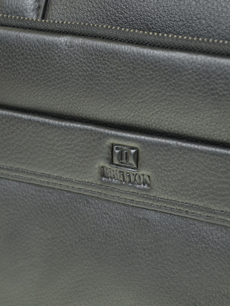 Уценка Сумка Мужская кожа Портфель BR 1603-1 black - фото 6