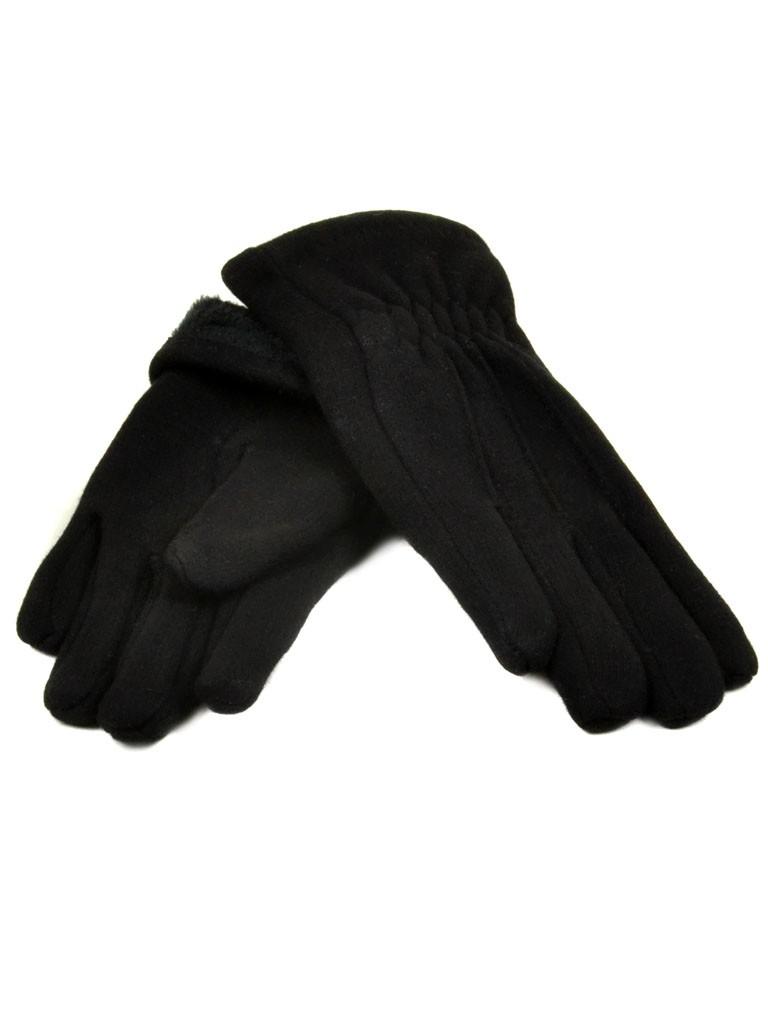 Перчатка Подростковая стрейч D2 ПЛ мод-2 black (мальчик)