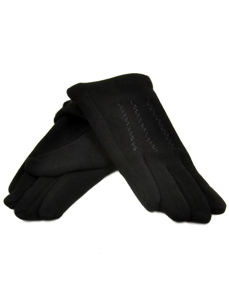 Перчатка Подростковая стрейч D2 ПЛ мод-3 black (мальчик)