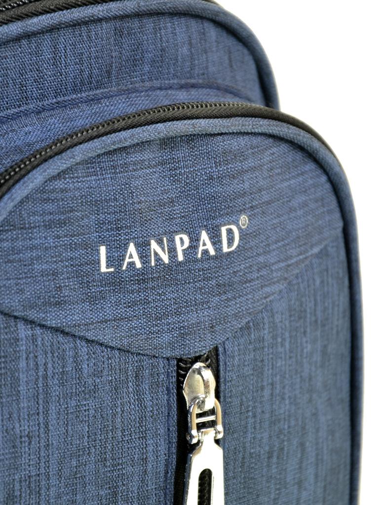 Сумка Мужская На Плечо нейлон Lanpad 01802 blue
