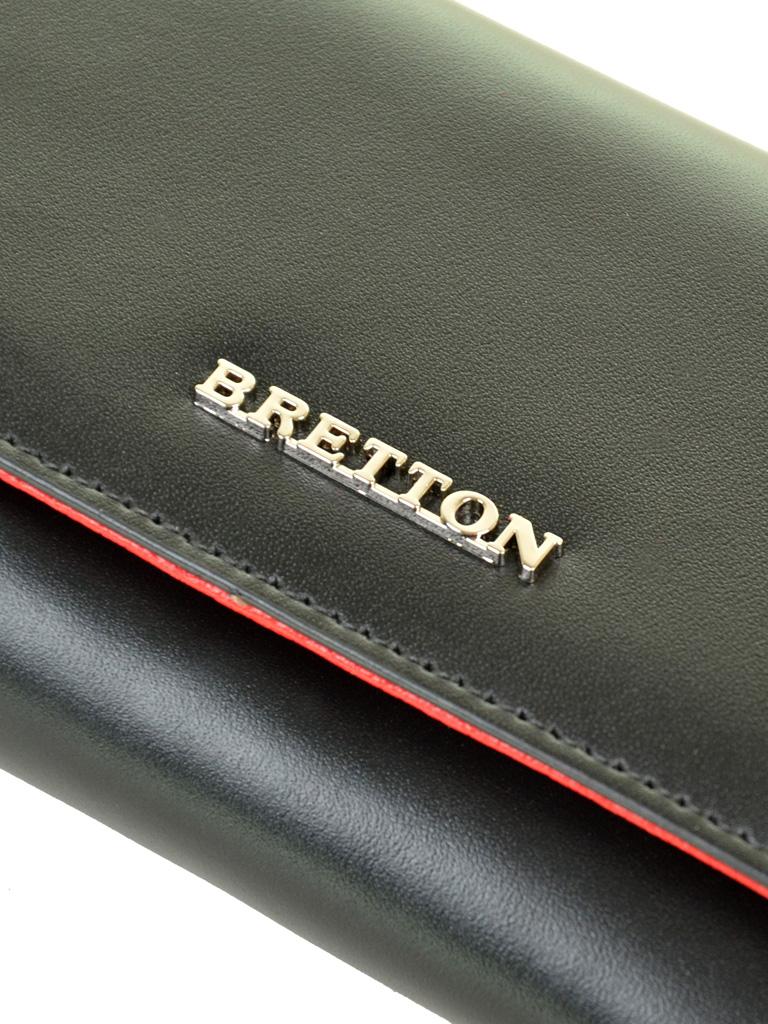 Кошелек Color женский кожаный BRETTON W5520 black - фото 3