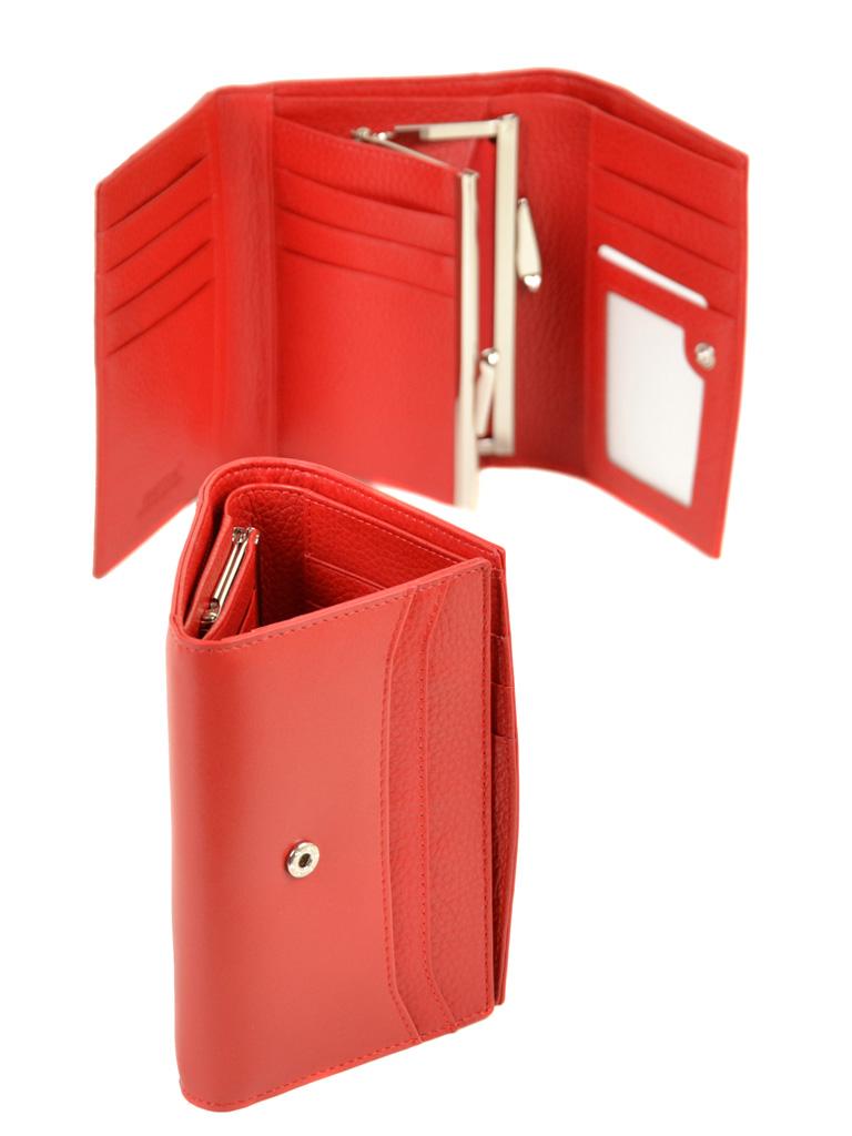 Кошелек Color женский кожаный BRETTON W5458 red - фото 4