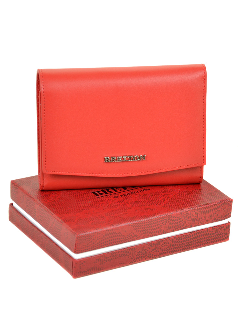 Кошелек Color женский кожаный BRETTON W5458 red