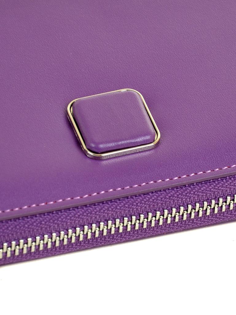 Кошелек Color женский кожаный BRETTON W7322 purple - фото 3