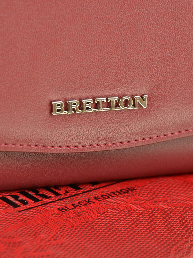 Кошелек Color женский кожаный BRETTON W5458 d-red