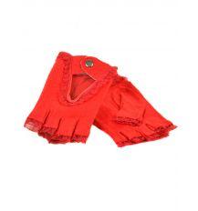 Перчатка Женская кашемир FO-2 red Распродажа