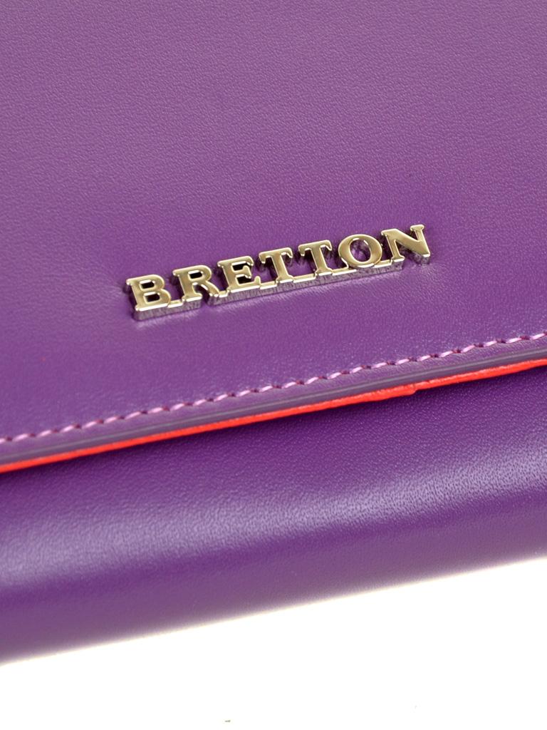 Кошелек Color женский кожаный BRETTON W7237 purple
