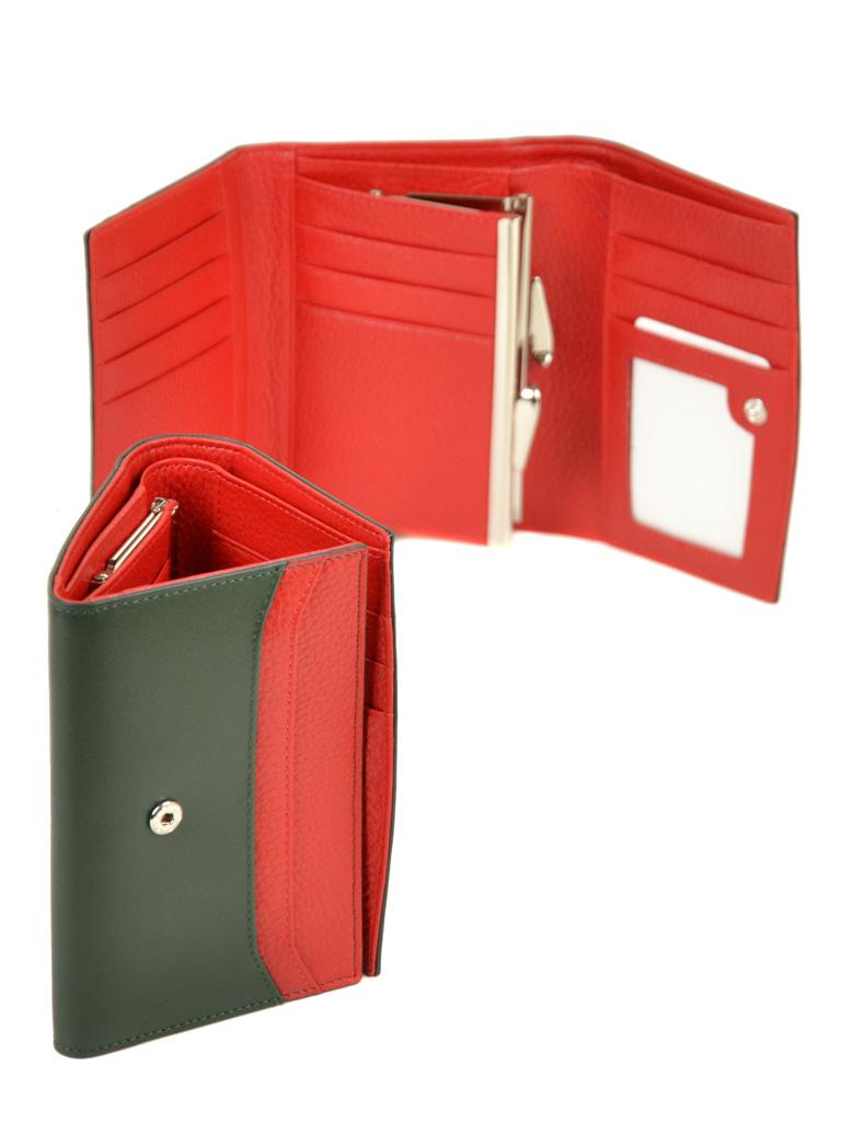 Кошелек Color женский кожаный BRETTON W5458 green