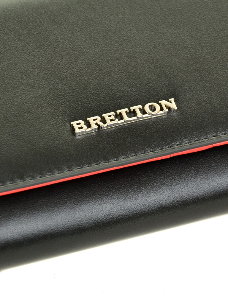 Кошелек Color женский кожаный BRETTON W7237 black - фото 3