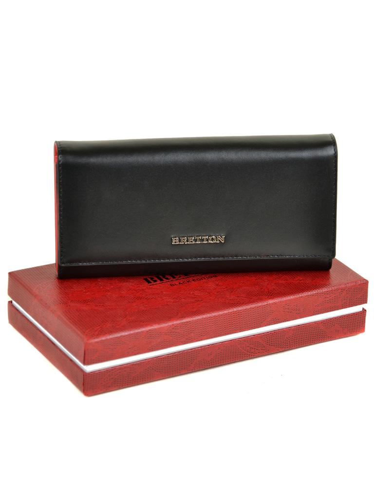 Кошелек Color женский кожаный BRETTON W7237 black