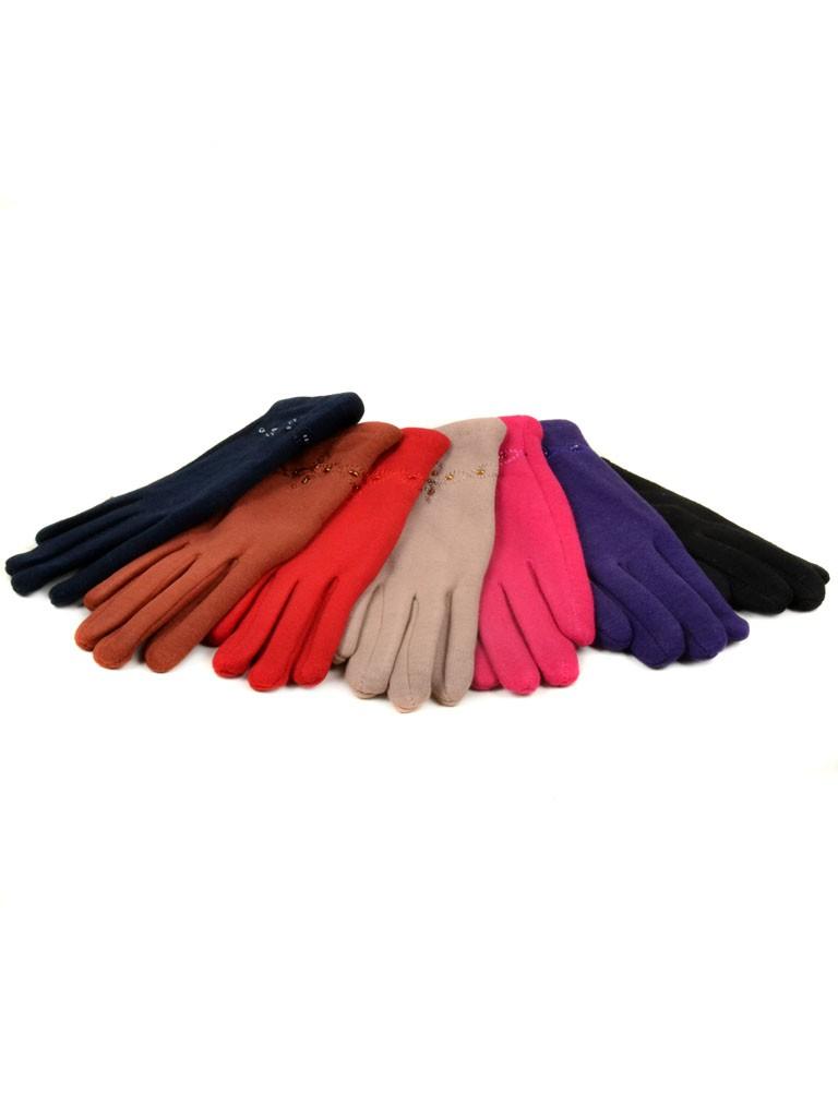 Перчатка Подростковая стрейч МариFashion D1 ПЛ мод-2 color mix (девочка)
