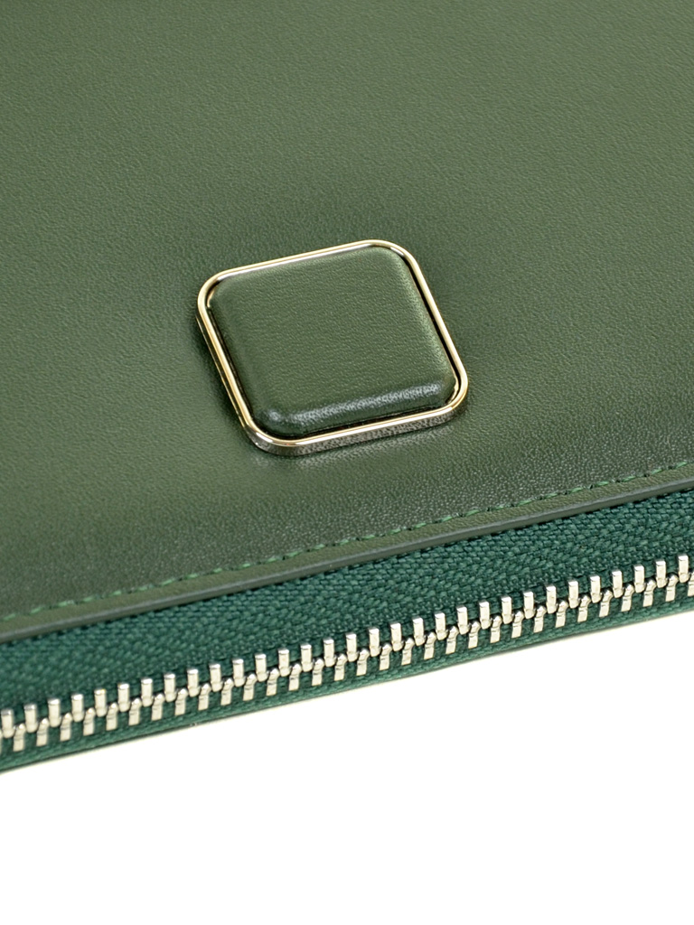 Кошелек Color женский кожаный BRETTON W7322 green - фото 3