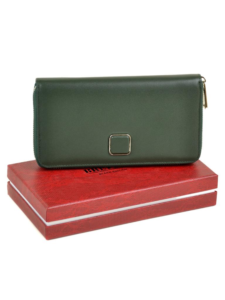 Кошелек Color женский кожаный BRETTON W7322 green