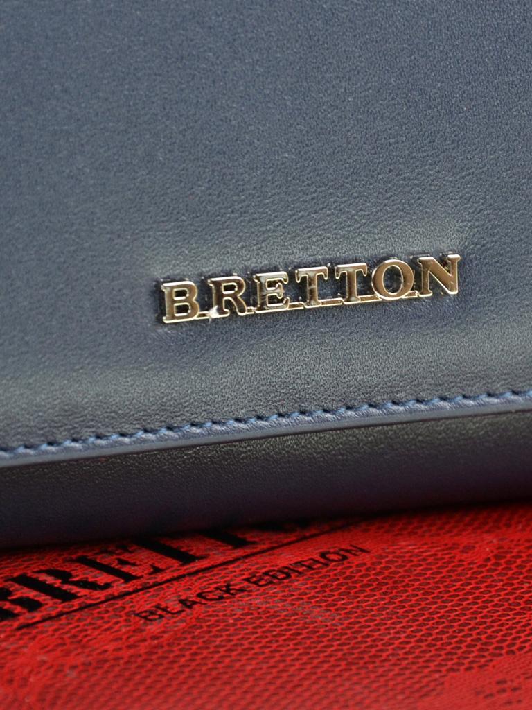 Кошелек Color женский кожаный BRETTON W7232 navi - фото 3