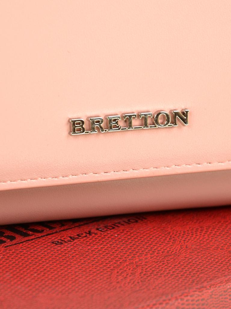 Кошелек Color женский кожаный BRETTON W7232 pink - фото 3