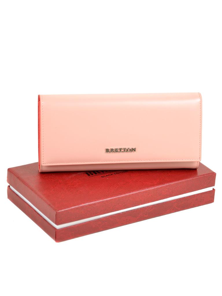 Кошелек Color женский кожаный BRETTON W7232 pink