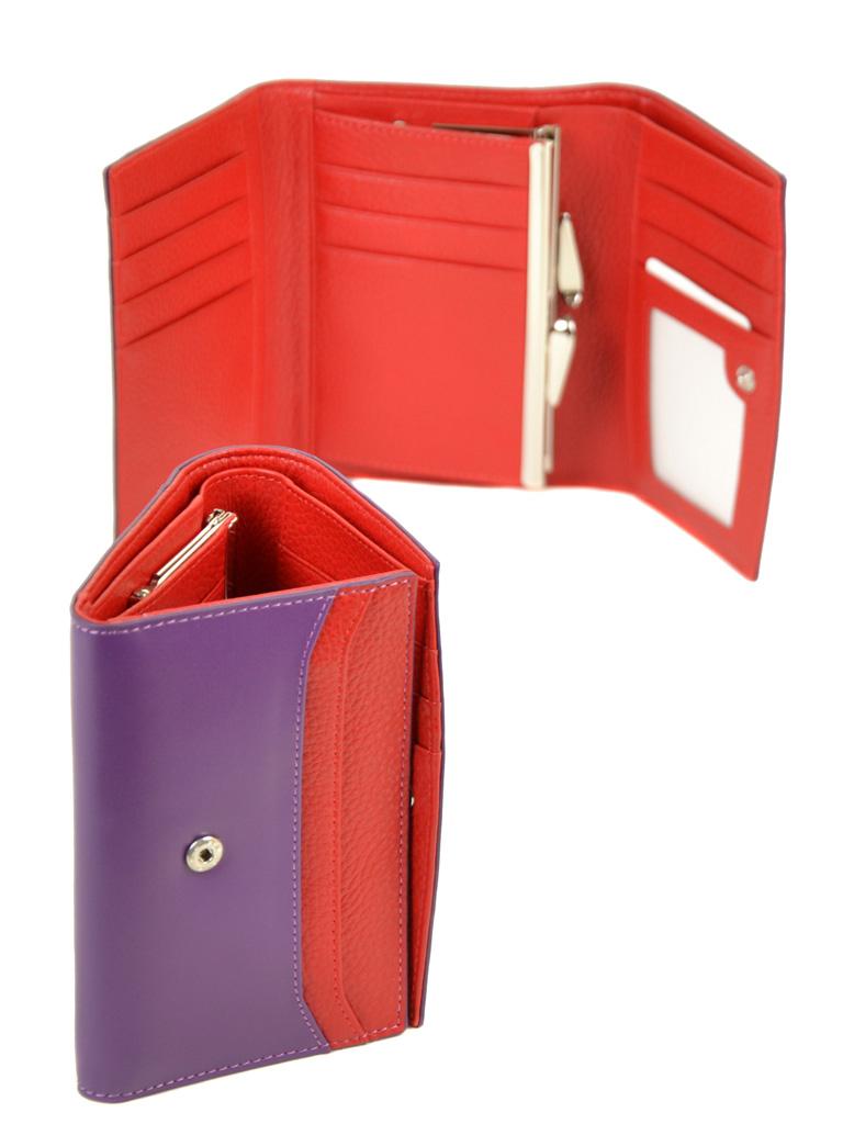 Кошелек Color женский кожаный BRETTON W5458 purple - фото 4