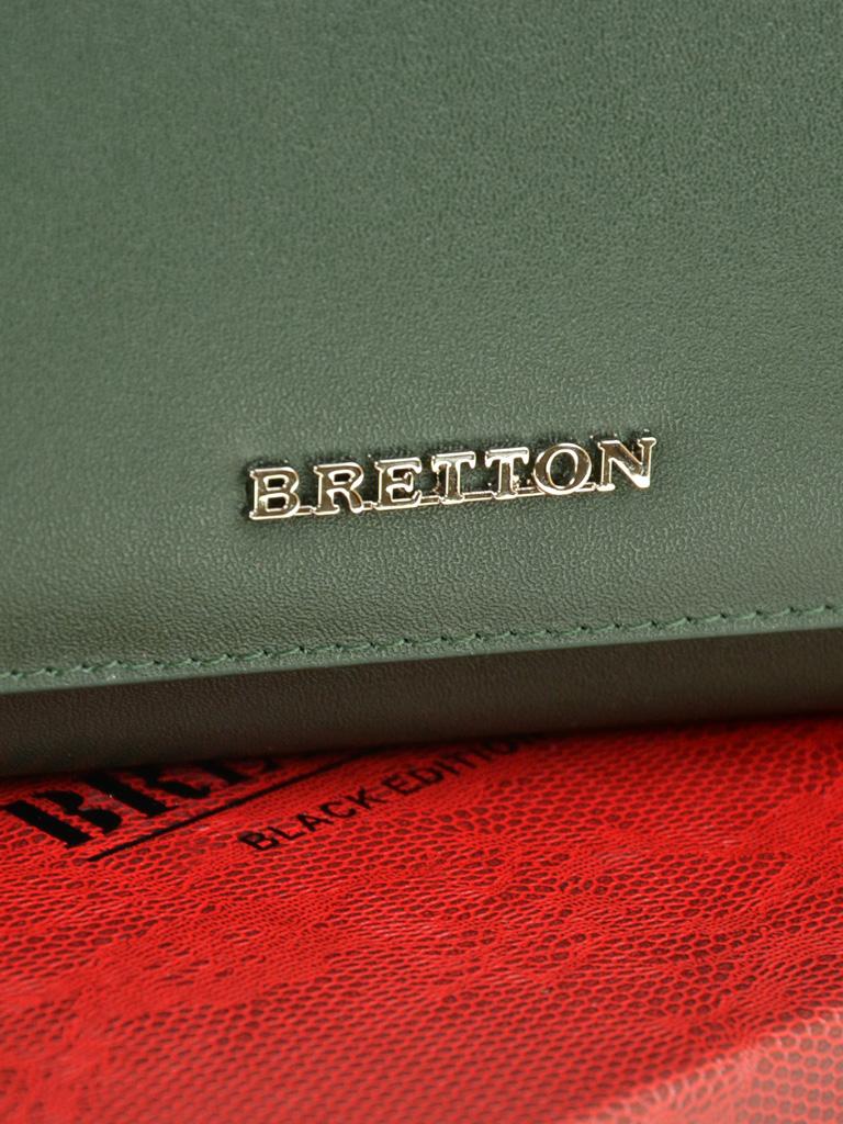 Кошелек Color женский кожаный BRETTON W7237 green