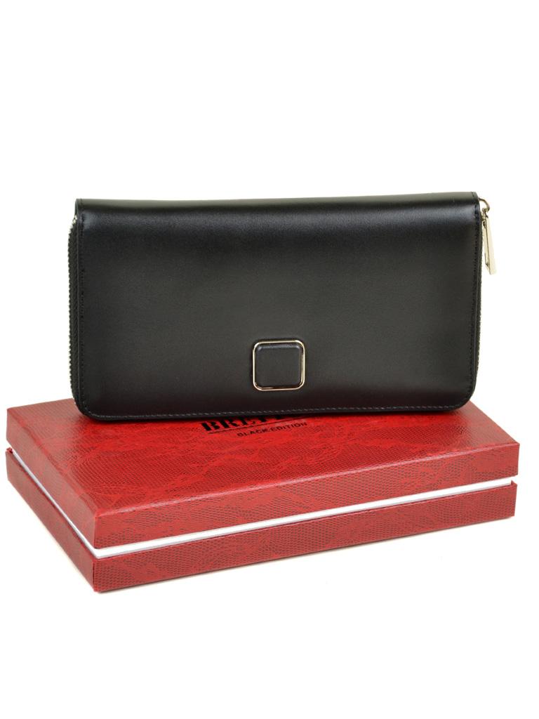 Кошелек Color женский кожаный BRETTON W7322 black