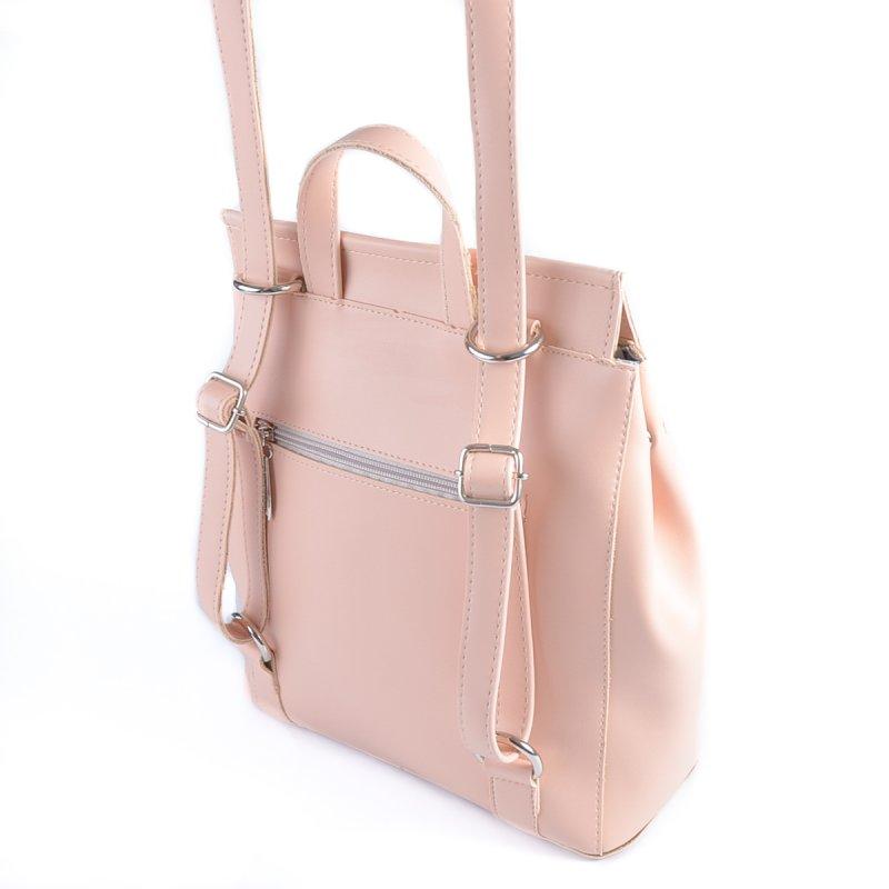 Сумка Женская Рюкзак иск-кожа М 194 88 pink - фото 3