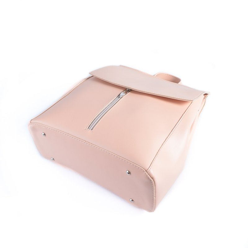 Сумка Женская Рюкзак иск-кожа М 194 88 pink - фото 4