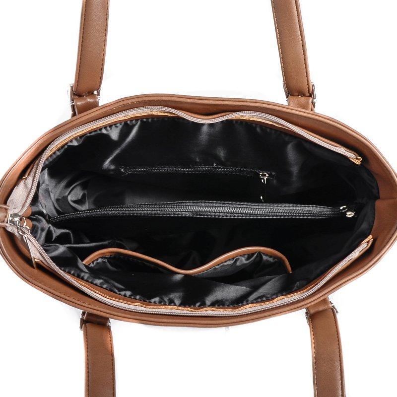 Сумка Женская Классическая иск-кожа М 168 97 brown - фото 5