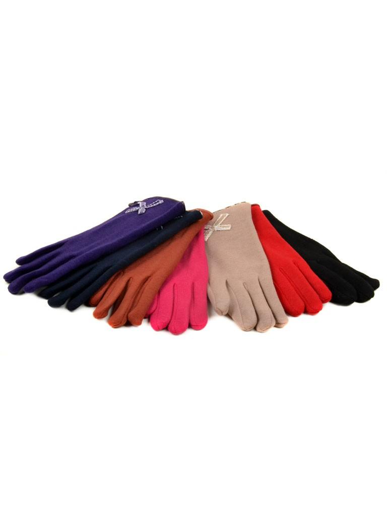 Перчатка Подростковая стрейч МариFashion D1 ПЛ мод-6 color mix (девочка)