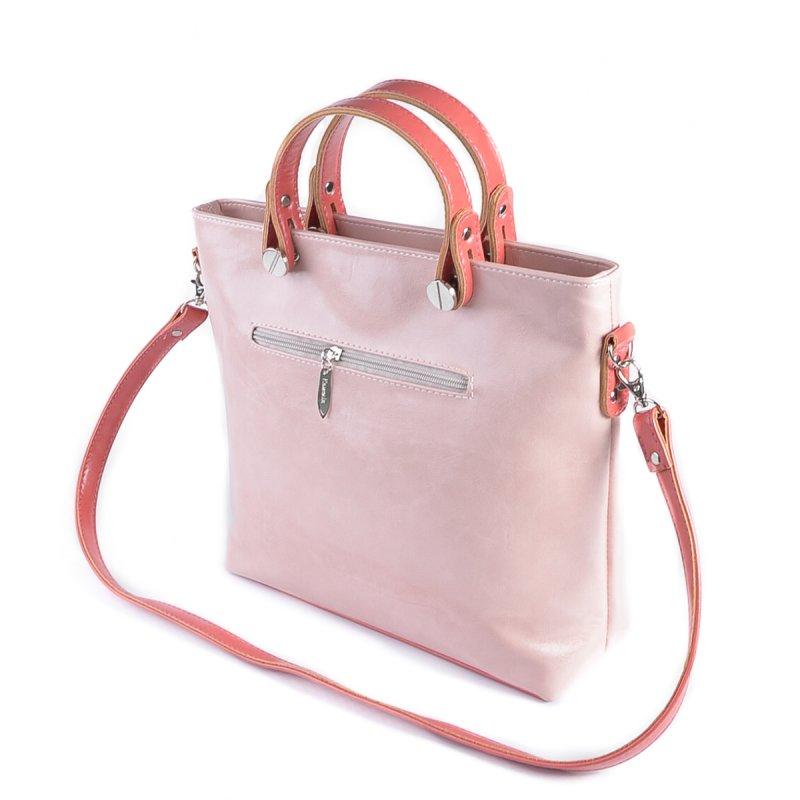 Сумка Женская Классическая иск-кожа М 61 16/20 pink - фото 3