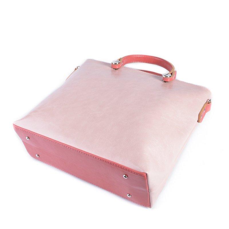 Сумка Женская Классическая иск-кожа М 61 16/20 pink - фото 4