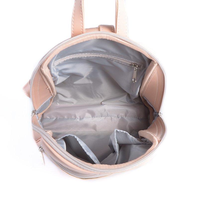 Сумка Женская Рюкзак иск-кожа М 207 88 pink - фото 5