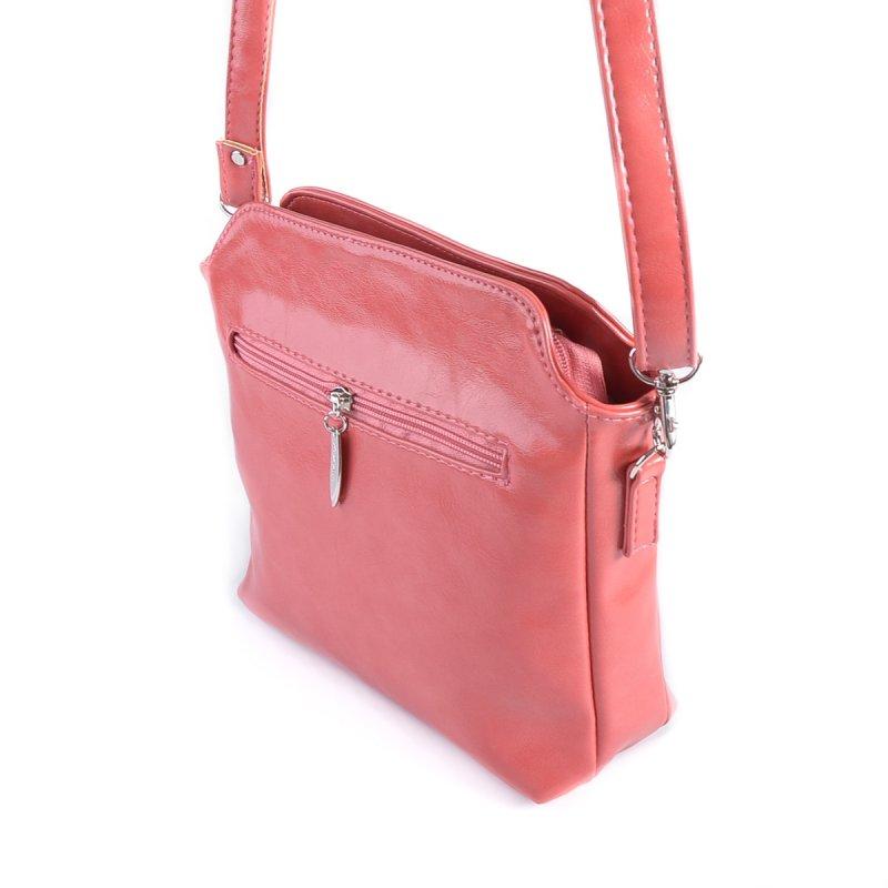 Сумка Женская Классическая иск-кожа М 121 20 pink - фото 3