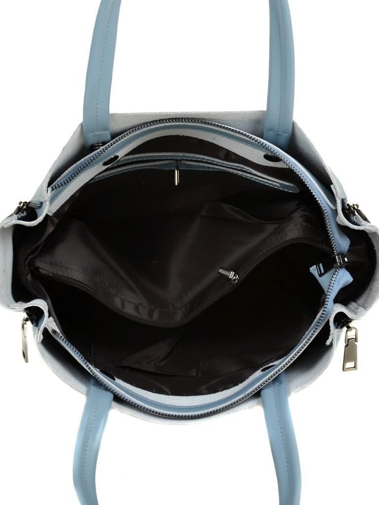 Сумка Женская Классическая кожа ALEX RAI 03-1 8650 light-blue - фото 5