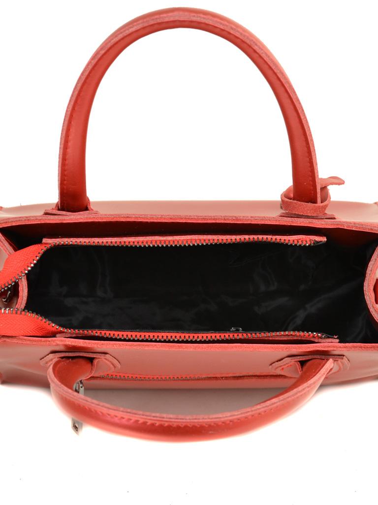 Сумка Женская Классическая кожа ALEX RAI 03-1 1527 bright-red - фото 5