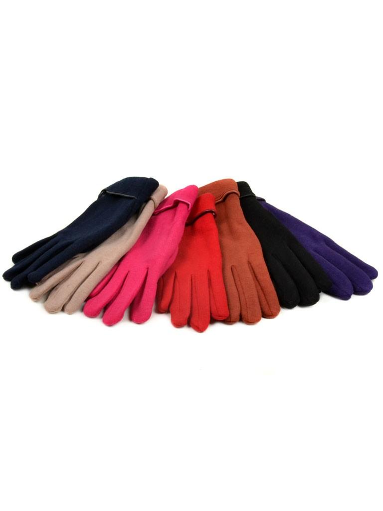 Перчатка Подростковая стрейч МариFashion D1 ПЛ мод-9 color mix (девочка)
