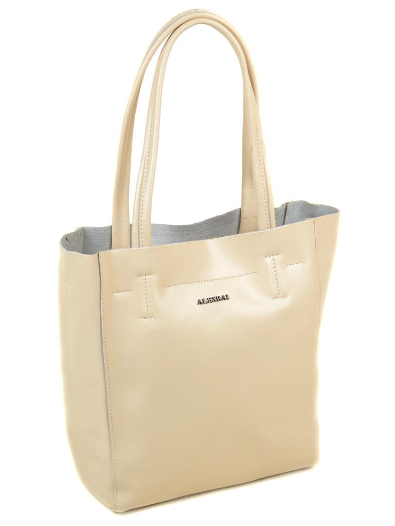 Сумка Женская Классическая кожа ALEX RAI 03-1 J003 beige