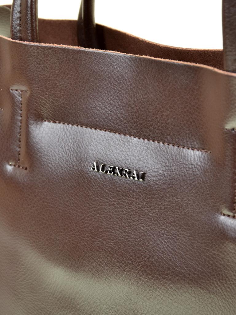 Сумка Женская Классическая кожа ALEX RAI 03-1 J003 brown - фото 3