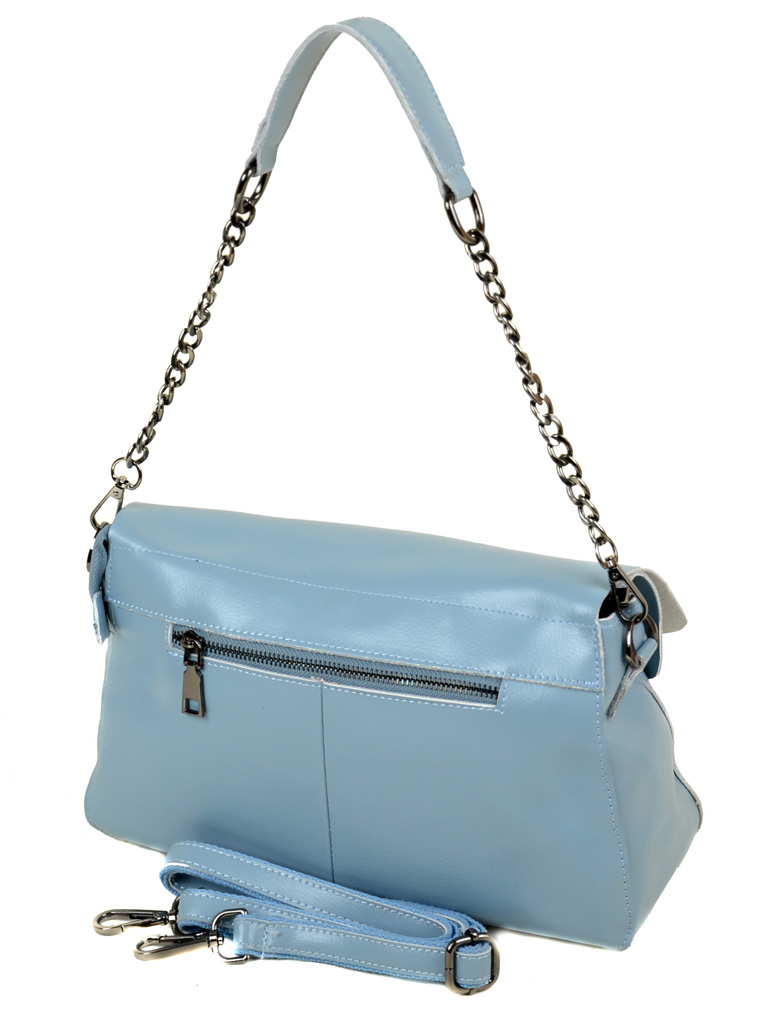 Сумка Женская Классическая кожа ALEX RAI 03-1 8605 light-blue