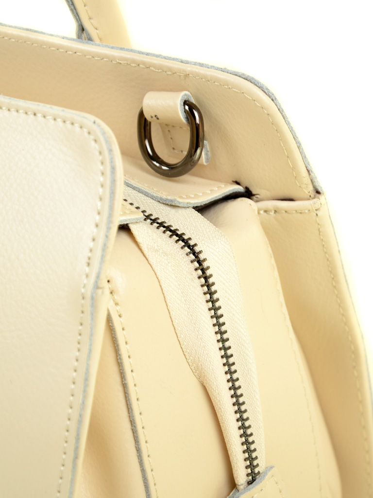 Сумка Женская Классическая кожа ALEX RAI 03-1 640-200 beige - фото 3