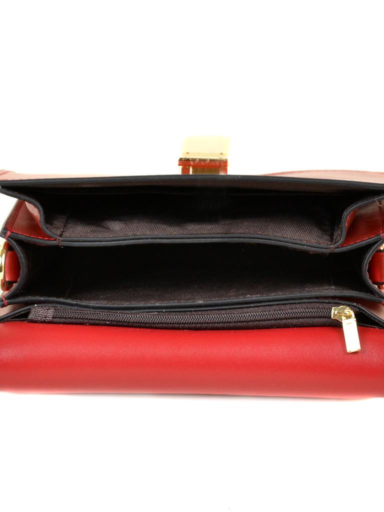 Сумка Женская Классическая кожа ALEX RAI 03-1 1879 special-red - фото 5
