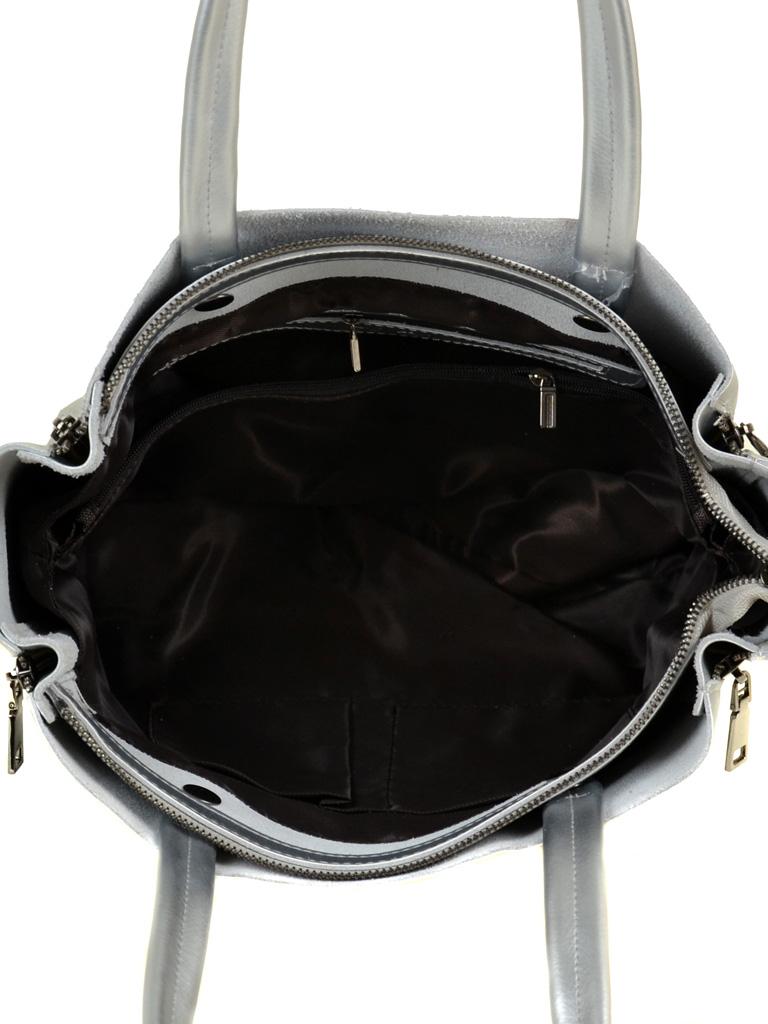 Сумка Женская Классическая кожа ALEX RAI 03-1 8650 silver - фото 5