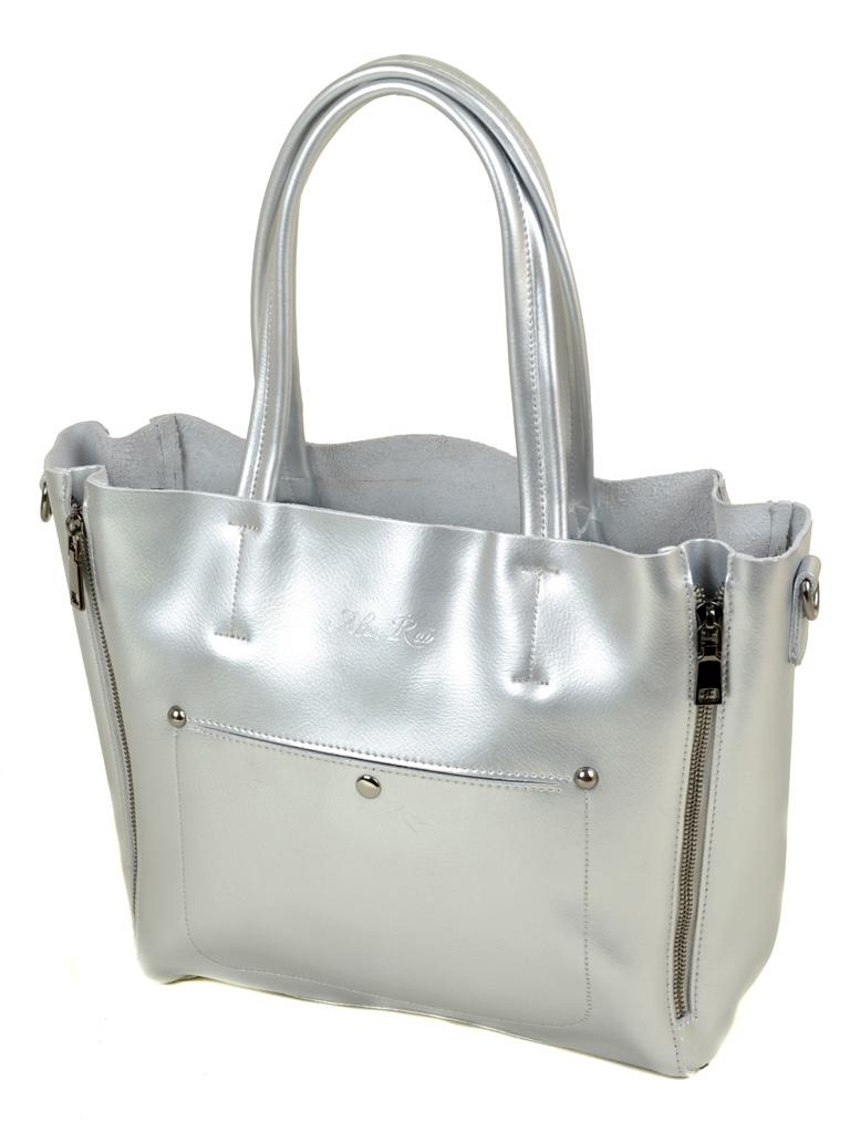 Сумка Женская Классическая кожа ALEX RAI 03-1 8650 silver