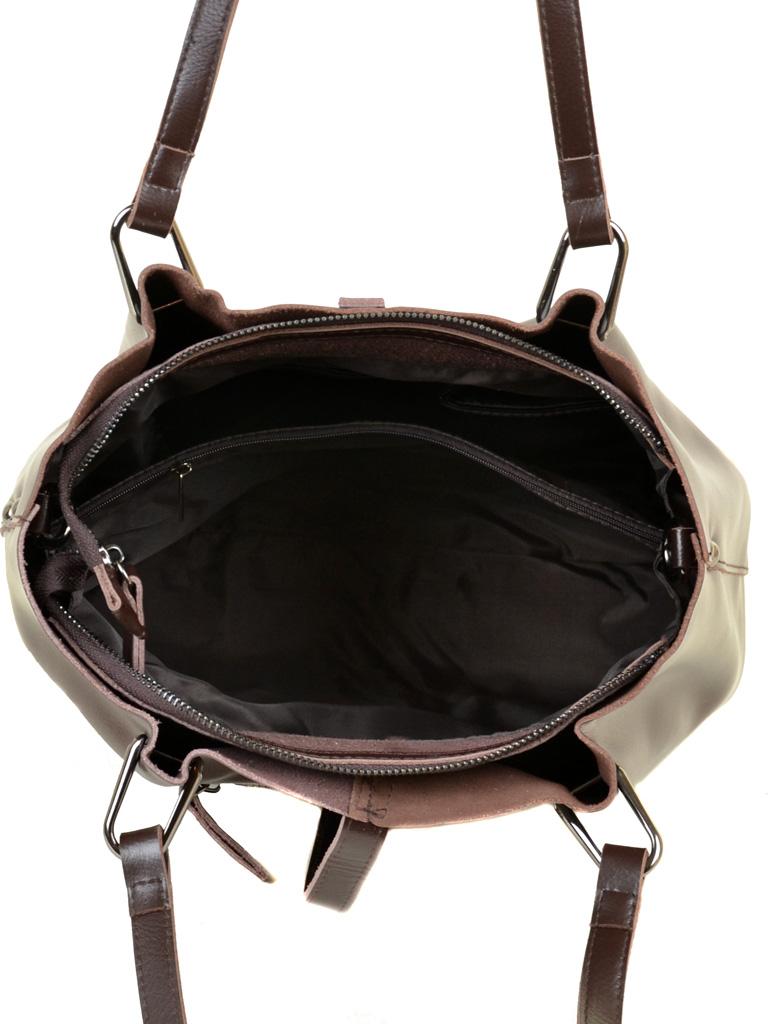Сумка Женская Классическая кожа ALEX RAI 03-1 317 brown - фото 5