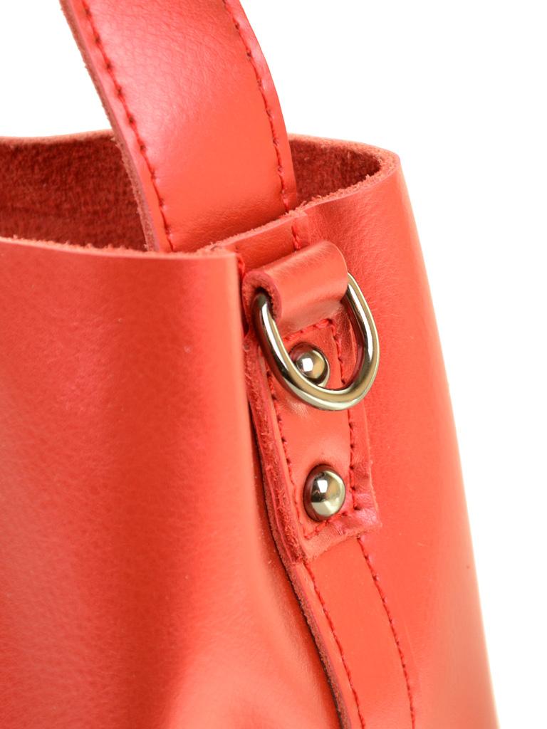 Сумка Женская Классическая кожа ALEX RAI 03-1 8641 special-red - фото 3