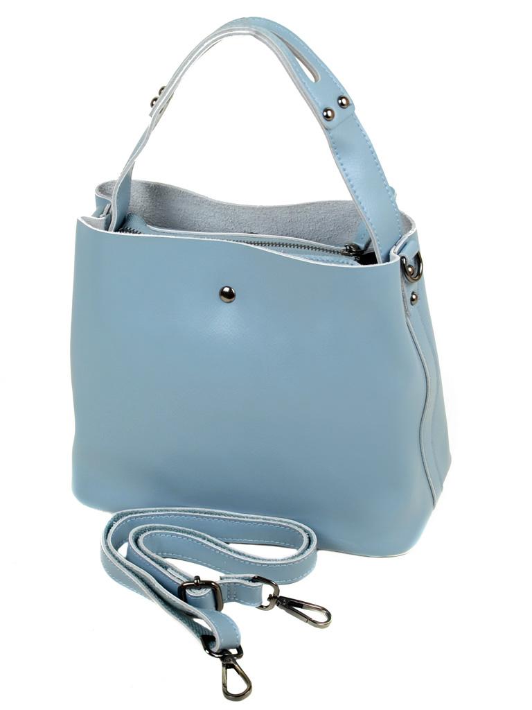 Сумка Женская Классическая кожа ALEX RAI 03-1 8641 babu-blue