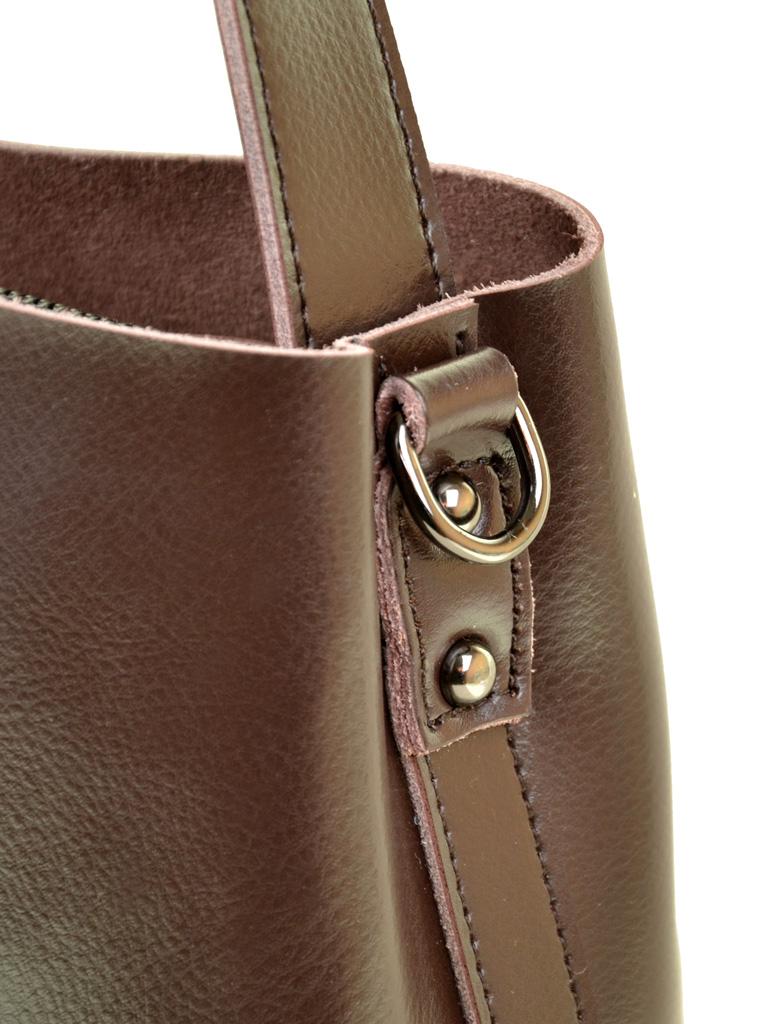 Сумка Женская Классическая кожа ALEX RAI 03-1 8641 brown
