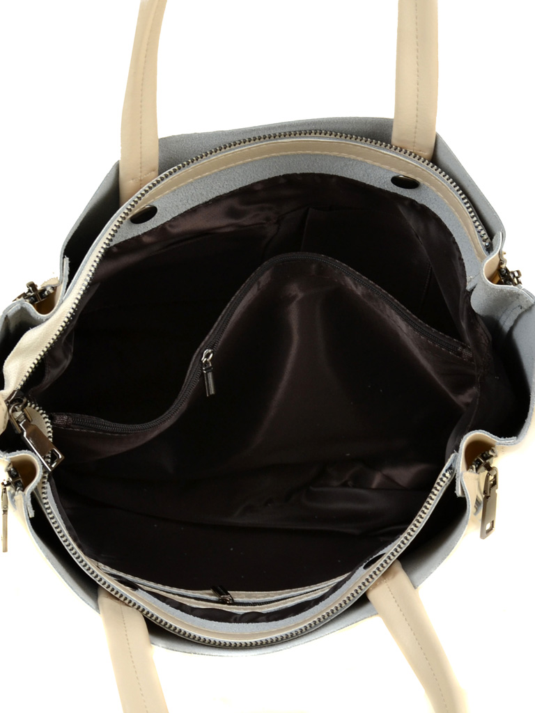 Сумка Женская Классическая кожа ALEX RAI 03-1 8650 beige