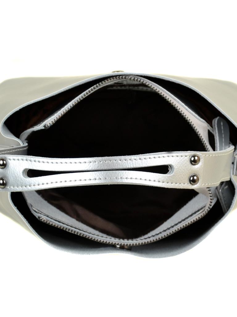 Сумка Женская Классическая кожа ALEX RAI 03-1 8641 silver-white