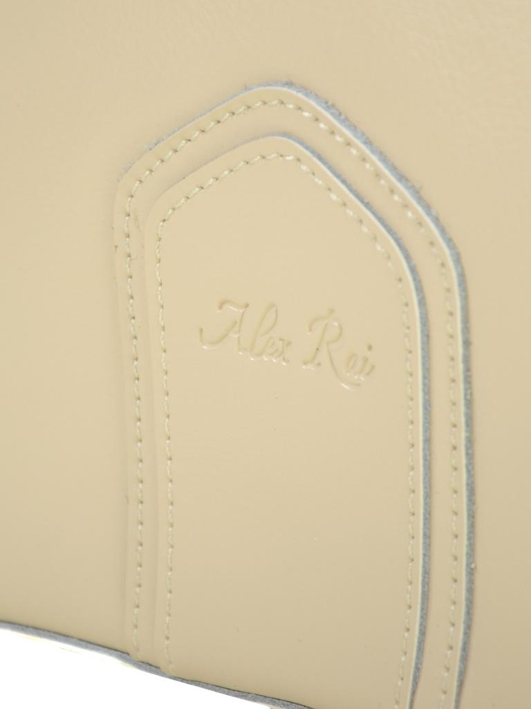 Сумка Женская Классическая кожа ALEX RAI 03-1 8641 beige